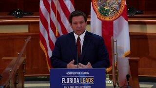 Gov. Ron DeSantis announces 2021-22 budget proposal