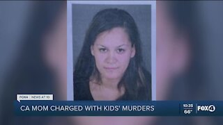 California mother charged with murder of her three children