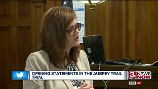 Opening statements in the Aubrey Trail trial