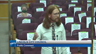 Lincoln man goes viral with city council speech