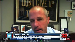 Chief Administrative Officer Ryan Alsop catches up with 23ABC