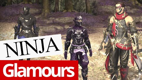Ninja - All Artifact Gear (FFXIV)