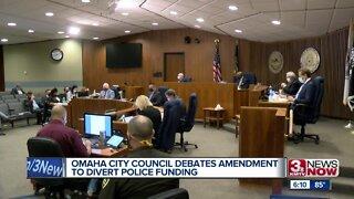 Omaha City Council Debates Amendment to Divert Police Funding