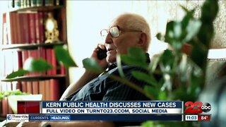 Kern Public Health discusses new cases