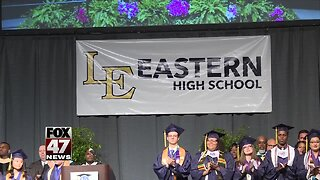 Lansing Eastern students say goodbye to high school, historic building