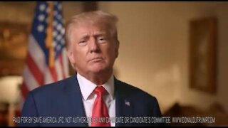 PRESIDENT TRUMP ON THE 20TH ANNIVERSARY OF 9/11