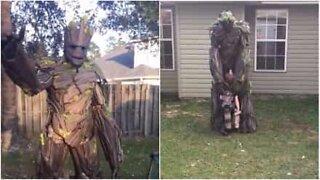 Far lager utrolig realistisk Groot kostyme!