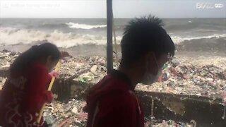 Impressionante inquinamento nelle Filippine