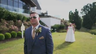 Best man in wedding dress deceives groom