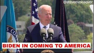 Joe Biden, Coastguard Speech / Coming To America Parody