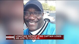 Longtime Detroit Fire captain dies from COVID-19