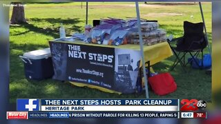 Thee Next Steps host volunteering event twice a month