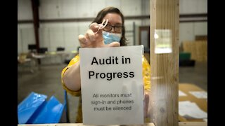 Just Want Elections to Be Audited