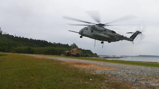 Helicopter Support Team (HST) training exercise