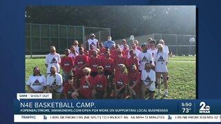 N4E Basketball Camp says Good Morning Maryland!