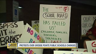 Protests over Grosse Pointe Public Schools changes