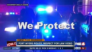 """Fort Myers Police """"Student Challenge Video"""""""