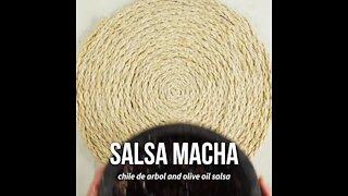 Authentic Macha Sauce