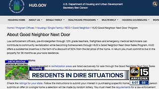 Valley residents in dire situations during government shutdown