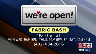 We're Open Omaha: Fabric Bash