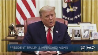 Trump impeached for second time