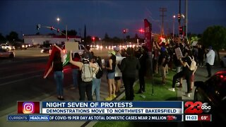 Calloway Drive filled with marches