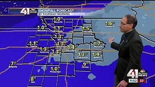 October snow could create slick roads in KC metro