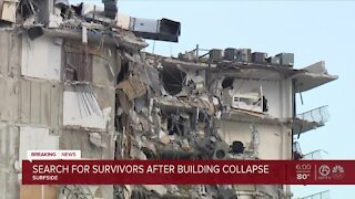 1 dead, at least 99 people unaccounted for after deadly Surfside condominium collapse