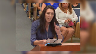 Mother gives compelling speech against CRT at Clark County school board meeting