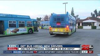 Golden Empire Transit job fair on Tuesday