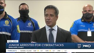 Student arrested for cyber attacks against Miami-Dade County Schoos