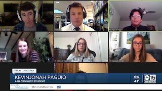 Journalism students discuss misinformation online