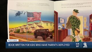 Children's book, soccer pitch aim to help military kids