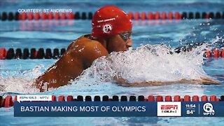 Bastian soaked in his Olympics experience