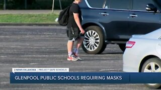 Glenpool Public Schools 'require' students and staff to mask-up