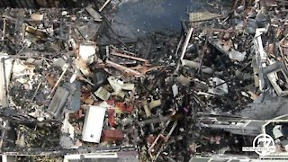 VIDEO: Aerials show destruction from Boulder condo fire