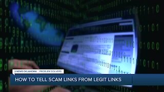 How to tell Scam Links From Legit Links