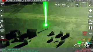 Blinded by the light: Aircraft targeted by laser pointers at PBIA