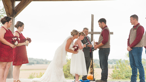 Groom reads emotional vows to bride's sister with Down Syndrome