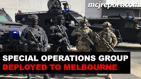 Victoria Police deploys SOG and CIRT to the streets