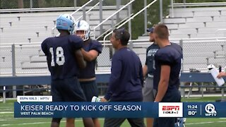 Keiser with big goals for 2021 season