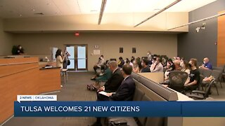Tulsa Welcomes 21 New Citizens