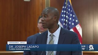 New Fla. surgeon general questions masks, vaccines