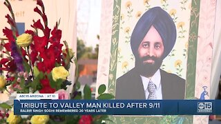 Valley pays tribute to Valley man killed after 9/11