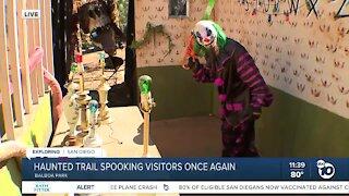 Haunted Trail spooking San Diegans once again