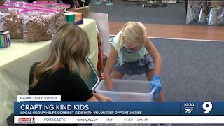 Local group helps connect kids with volunteer opportunities