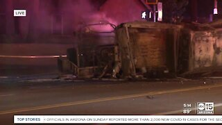 Deadly crash near 71st Avenue and Indian School Road