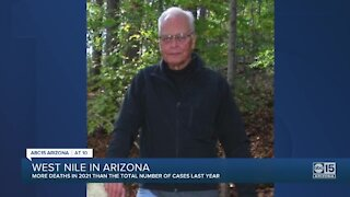 Scottsdale man dies after suffering from West Nile Virus