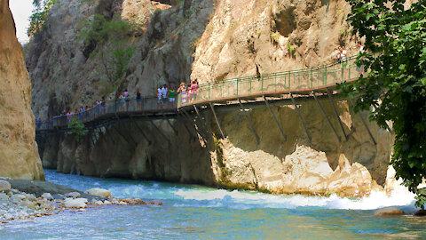 Saklikent on the Turkish Aegean