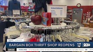 Kern's Kindness: Bargain Box reopens